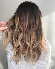 Photo of 40 top balayage für dunkles haar schwarz und dunkelbraunes haar balayage farbe …