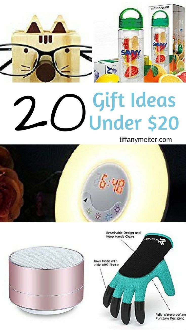 20 Unique Gift Ideas Under 20 With Images Christmas Gifts For