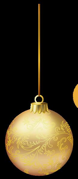 Gold Christmas Ball Png Picture Christmas Balls Gold Christmas Ball