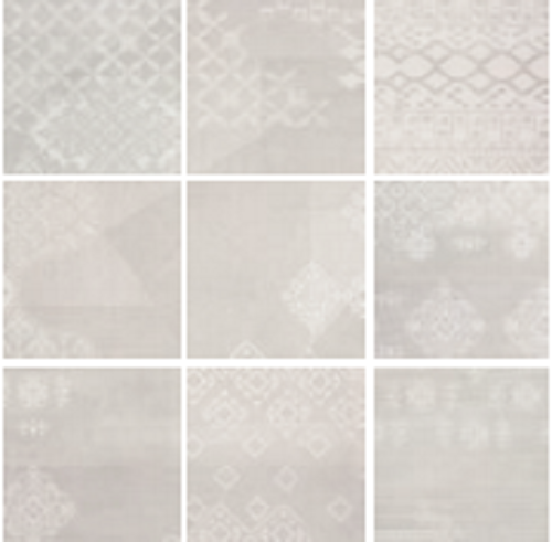 Tiles And Decor Provenza #gesso Decor Patchwork Natural White 20X20 Cm 023X0Rb