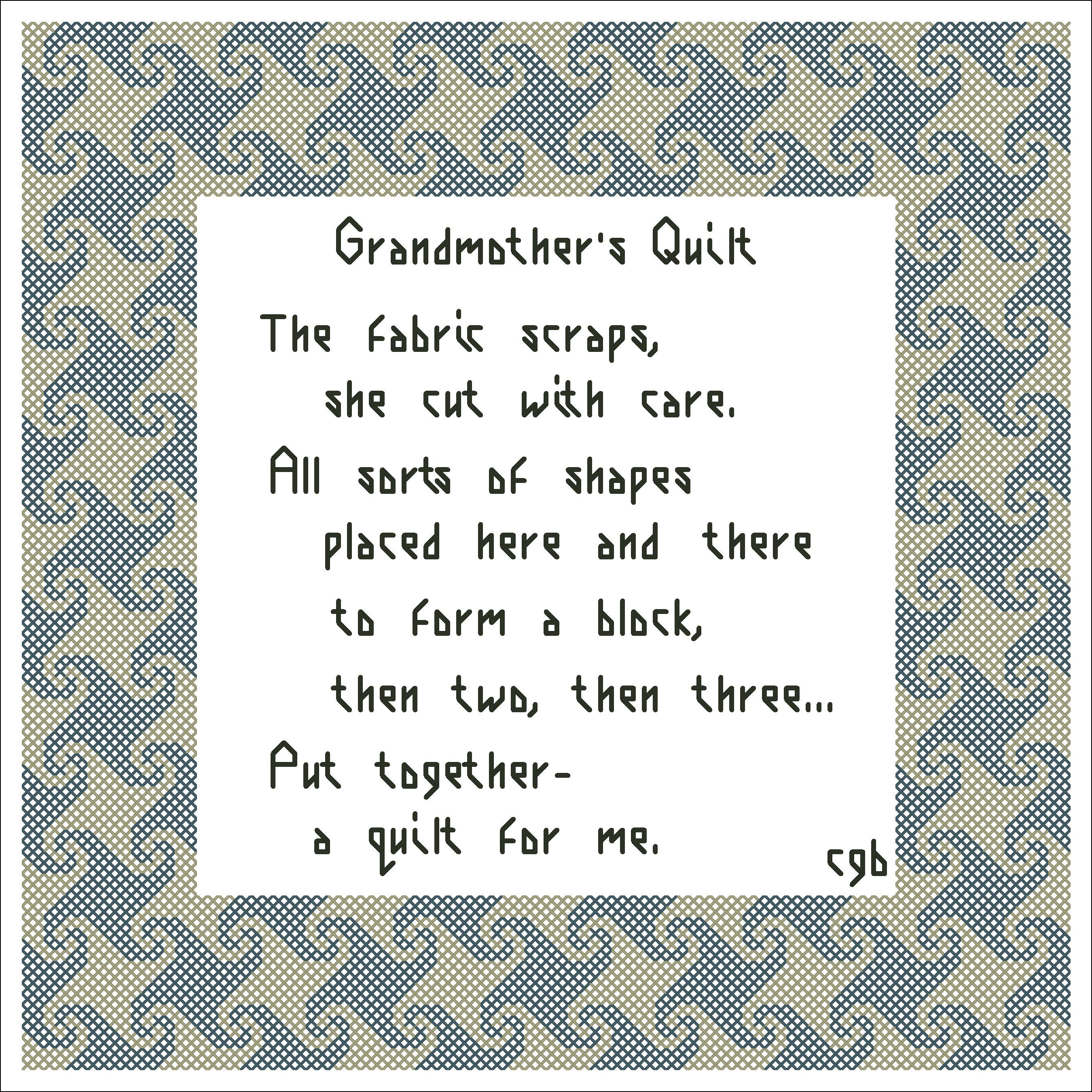 an quilts sayings embroidered there i quilt add all who be will no doubt pin to label my