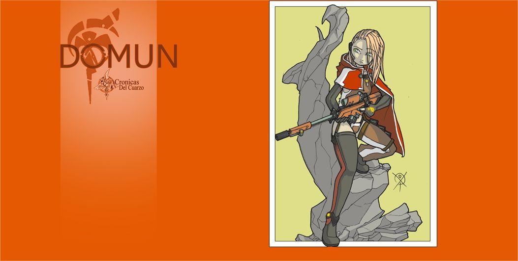 Otro de los personajes de D0MUN Universo.