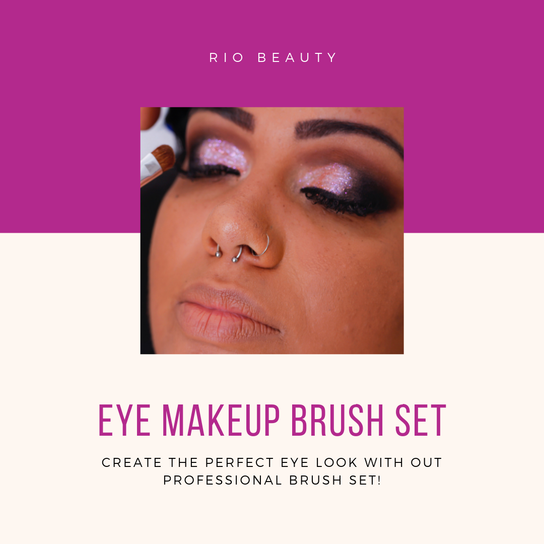 Eye Essentials Professional Cosmetic Brush Collection It