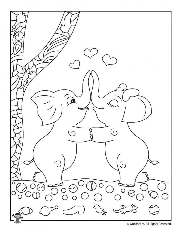 Find the Item Game with Elephants #elephantitems