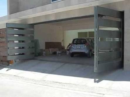 Resultado de imagen para portones de herreria modernos - Puertas de garages ...