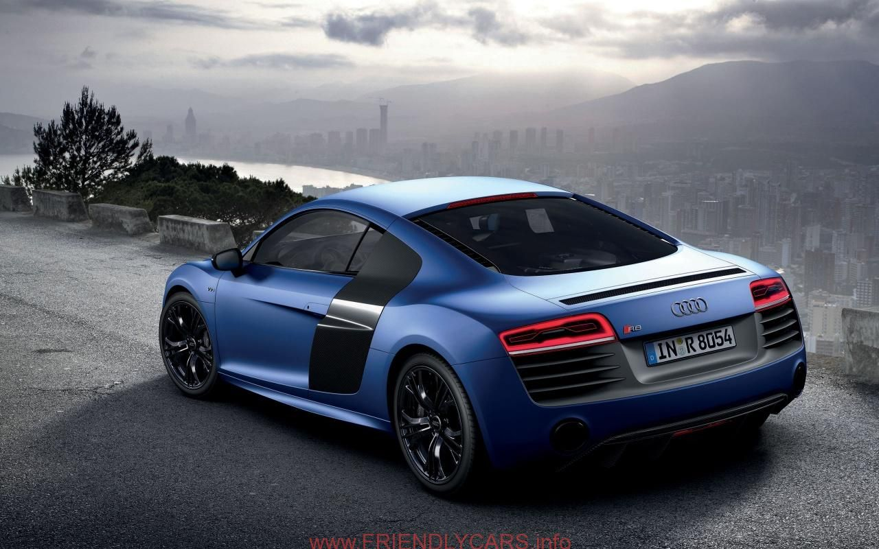 Cool Audi R8 Black And Blue Car Images Hd Download Wallpaper Audi R8