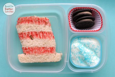 BentOnBetterLunches: Simple Seuss Sandwich