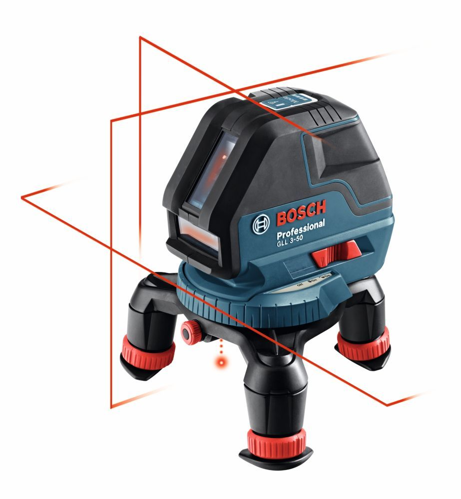 360 Three Plane Leveling And Alignment Line Laser With Four Aa Batteries Laser Levels Bosch Tools Bosch