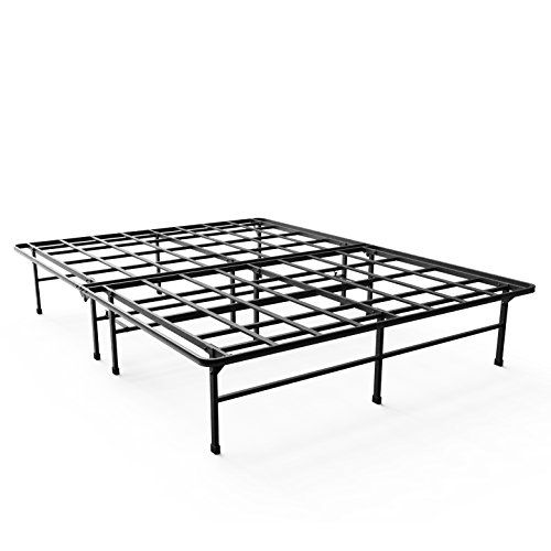 zinus smartbase elite mattress foundationplatform bed framebox spring replacementstrongsturdyquiet noise free queen kitchen dining
