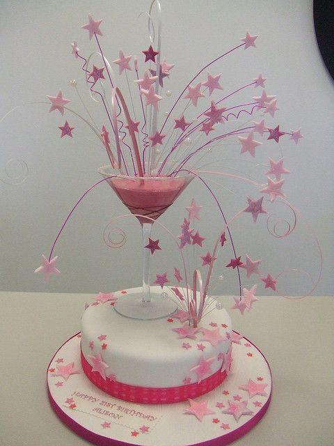 Margarita Birthday Cake For Adults
