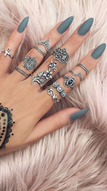 💅 101 Trending Nail Art Ideas | Fabulous nails, Make up and Ring ...