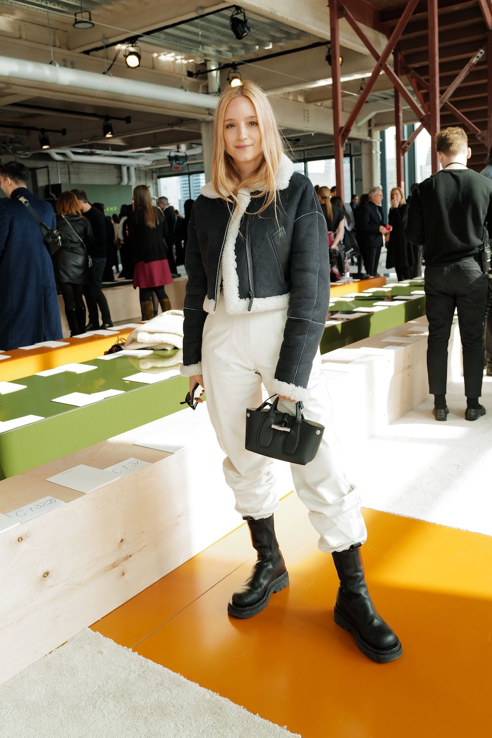 #charlottegroeneveld #longchamp #modepilot #pantsinboots #nyfw #style2020