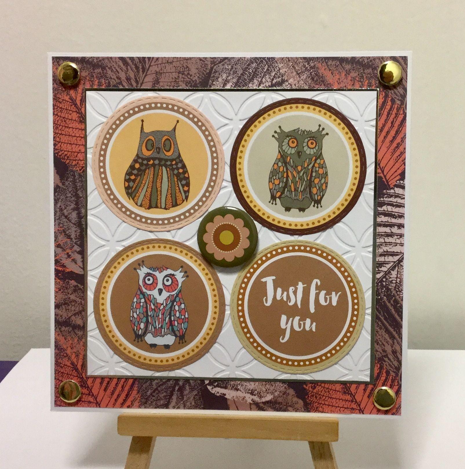 Owls, Making Cards Magazine
