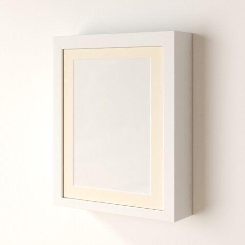 Photo of Wandrahmen Maggie Zipcode Design Größe: 20 cm x 30,4 cm im 27,9 cm x 35,5 cm Passepartout, Farbe: Buche