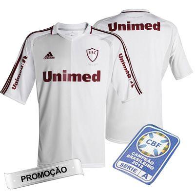 c4f4629e49ee0 Promoção Camisa Infantil Fluminense 110 Anos Adidas Cinza Com Branco ...