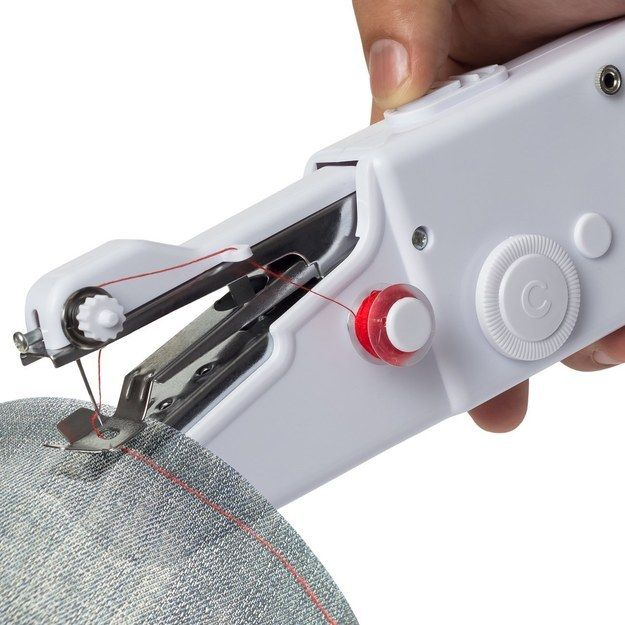 Handheld Portable Sewing Machine Stitch Home Mini Cordless Electric Tailor Cloth