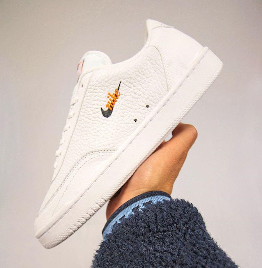 Que vaut la Nike Court Vintage PRM 'White Total Orange' CT1726-100 ...