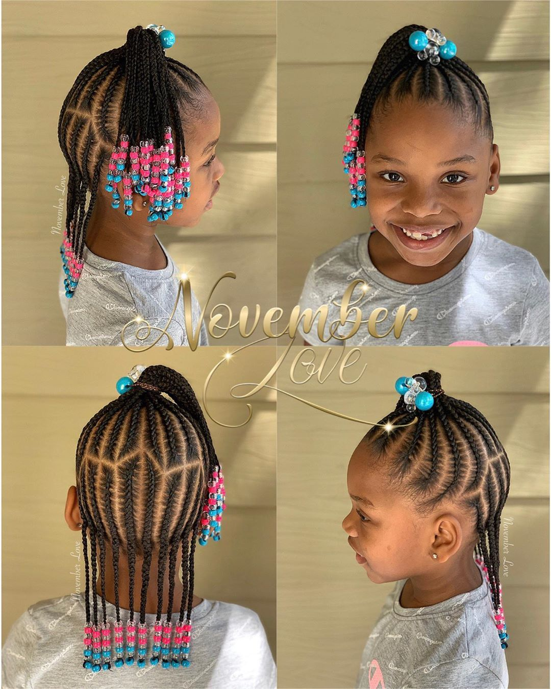 Children S Braids And Beads Booking Link In Bio Childrenhairstyles Braidart Childrensbrai Little Girl Braids Black Kids Hairstyles Toddler Hairstyles Girl
