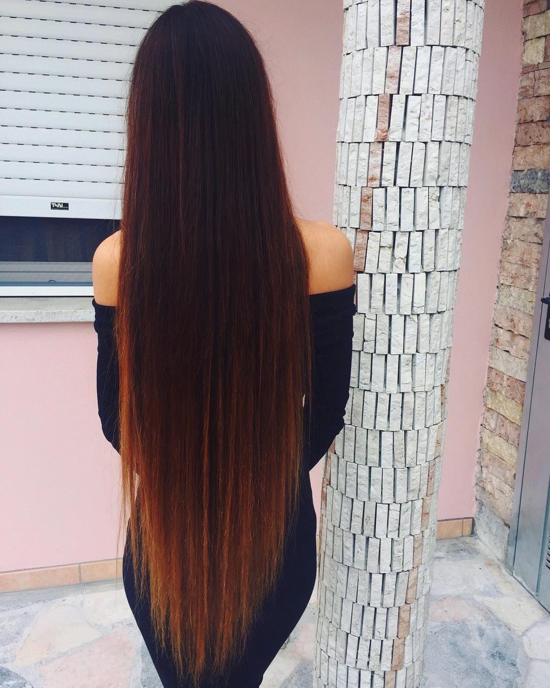 Longhair Long Hair Tumblr Long Dark Hair Super Long Hair