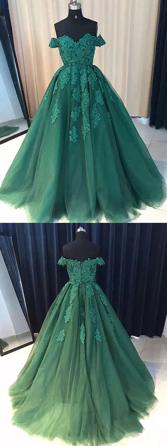 Blue and green prom dress  Chic Green Prom Dress Modest Popular Cheap Long Prom Dress VB