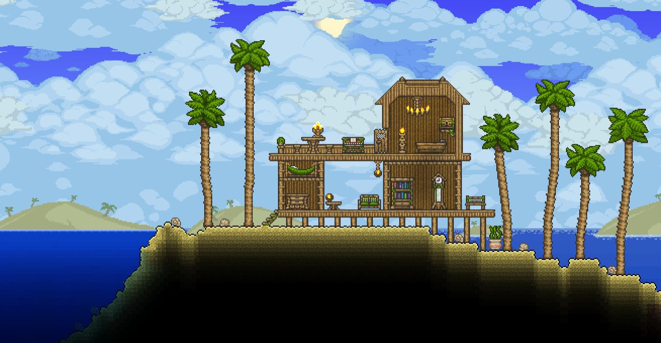 how to find a sky island in terraria