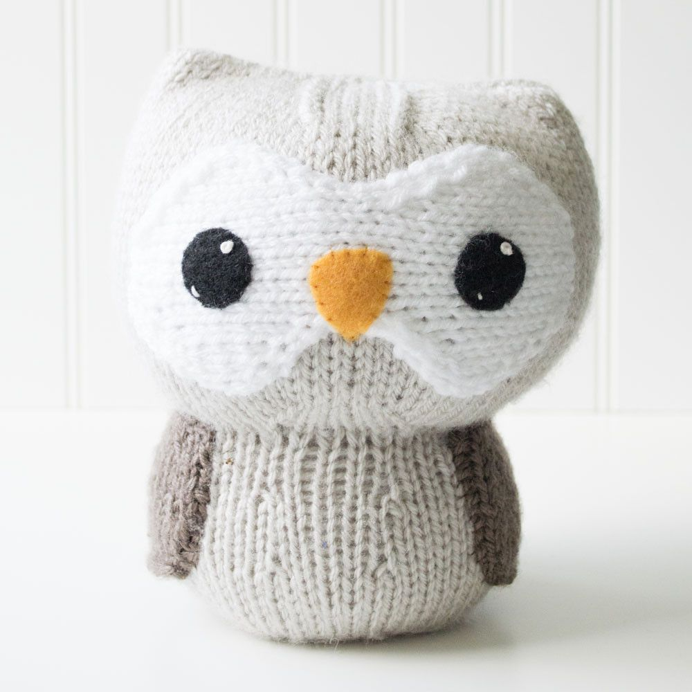 Owl Knit Amigurumi Pattern, 8 inch | A: Owl Love: All I | Pinterest ...