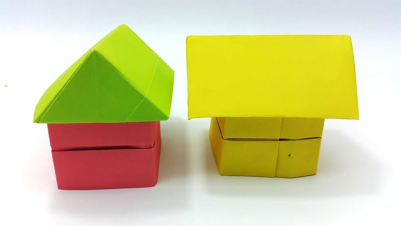 origami-house-craft-idea | Crafts and Worksheets for Preschool ... | 720x1280