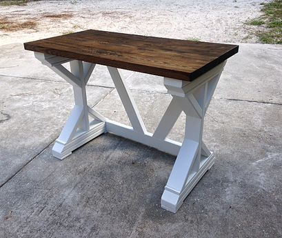 Custom Built Rustic Farmhouse Tables And Furniture In Brooksville Florida Southern Fancy Without The Price