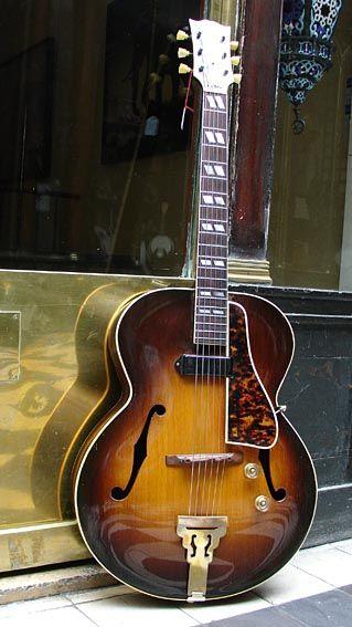 Gibson Es 300 1946 Semi Acoustic Guitar Archtop Guitar Jazz Guitar