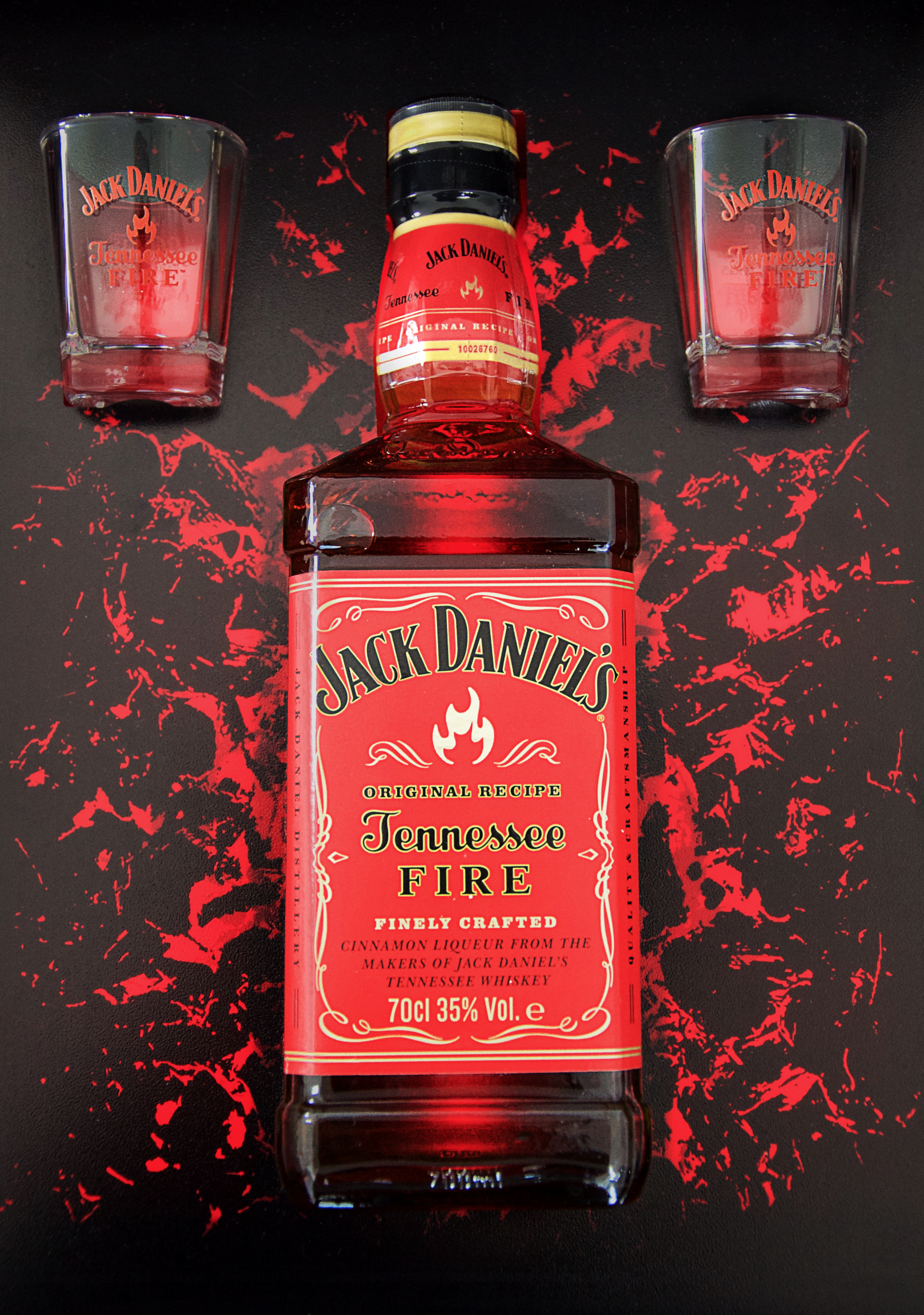 The concept and creation for Jack Daniels Tennessee Fire