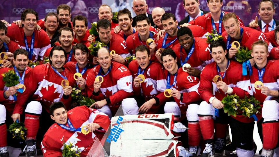 This is a picture of Team Canada winning gold in 2014. I chose this picture to represent Canadian culture because when a Canadian team makes it far in something everyone watches the game to show their support. It is like our culture now to go crazy for something like this. Its similar to when the Blue Jays and Leafs made it to the playoffs everyone started watching the game.