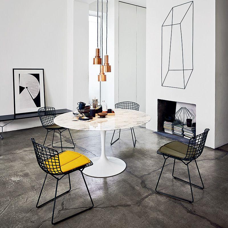 chaise bertoia 10 - Chaise Bertoia