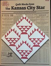 Quilt Blocks From The Kansas City Star American School Needlework Pattern Book