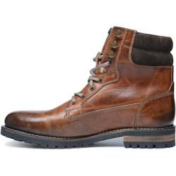Photo of Braune Leder-Schnürboots (40,41,42,43,44,45,46) Manfield
