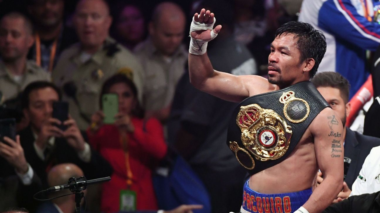 Boxing reset Pacquiao still a star at welterweight