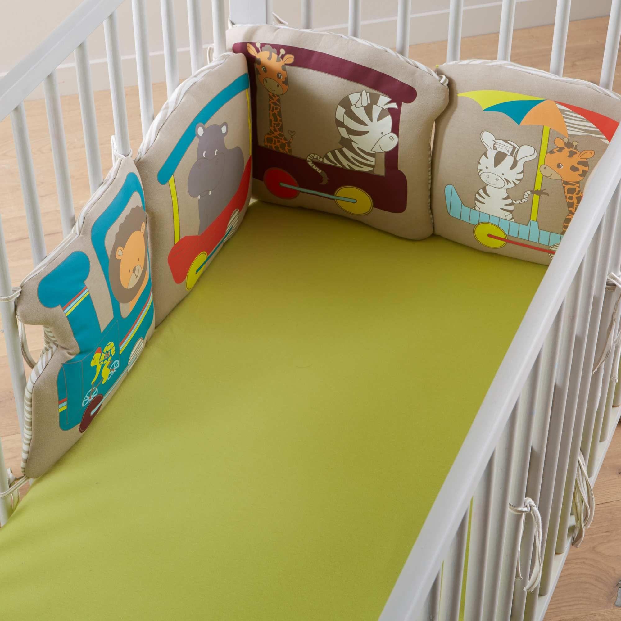 tour de lit bébé garçon kiabi Tour de lit 6 coussins Bébé garçon   Kiabi   24,99€ | enfant  tour de lit bébé garçon kiabi