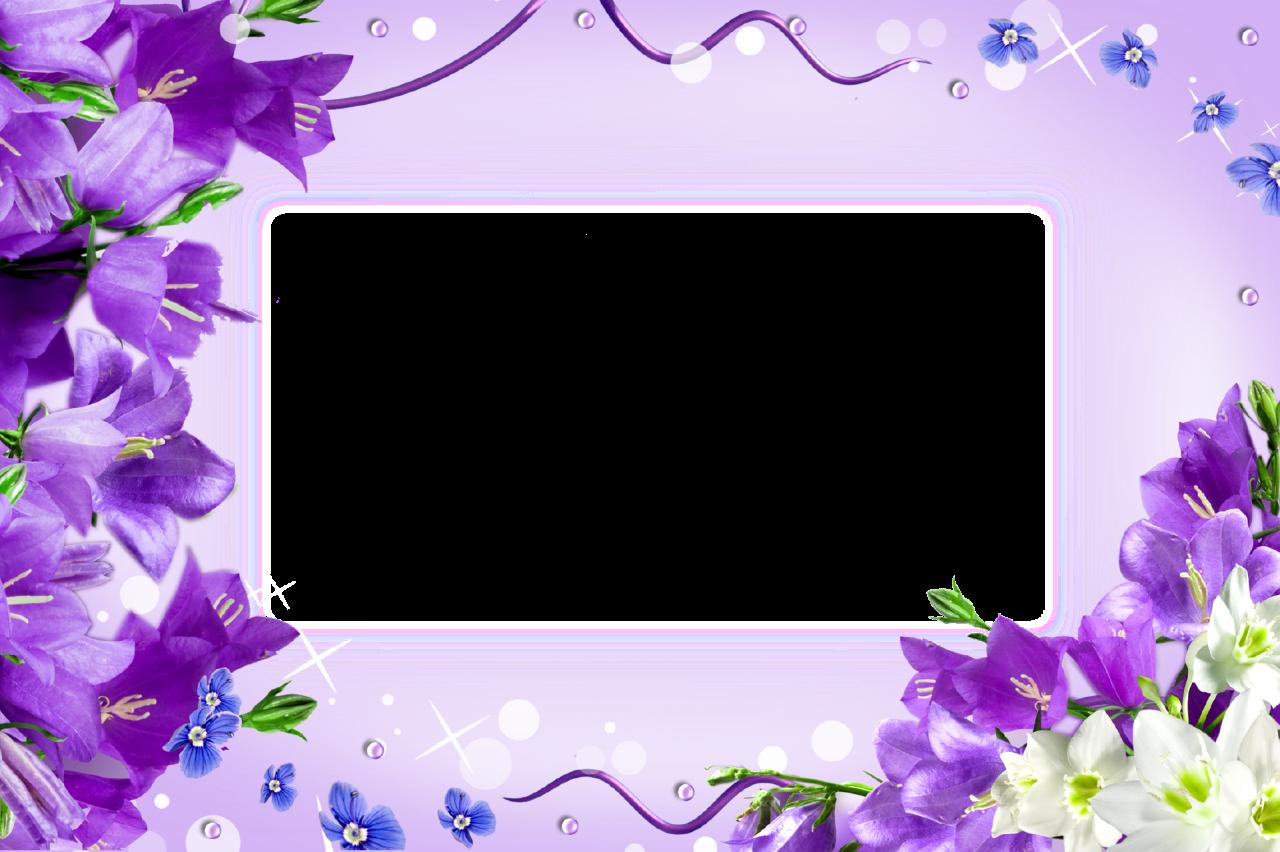 Transparent Png Frames Page 91 Blue Bell Flowers Wedding Banner Frame