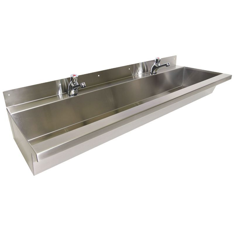 Nursery Stainless Steel Wash Trough Trough Sink Hand