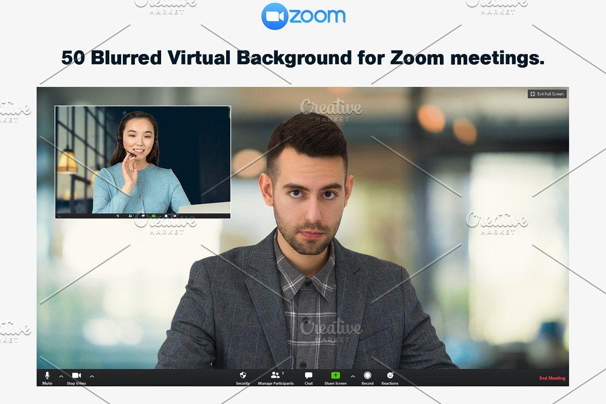 Blurred Virtual Bg For Zoom Meeting Virtual Aland Islands Heard Island