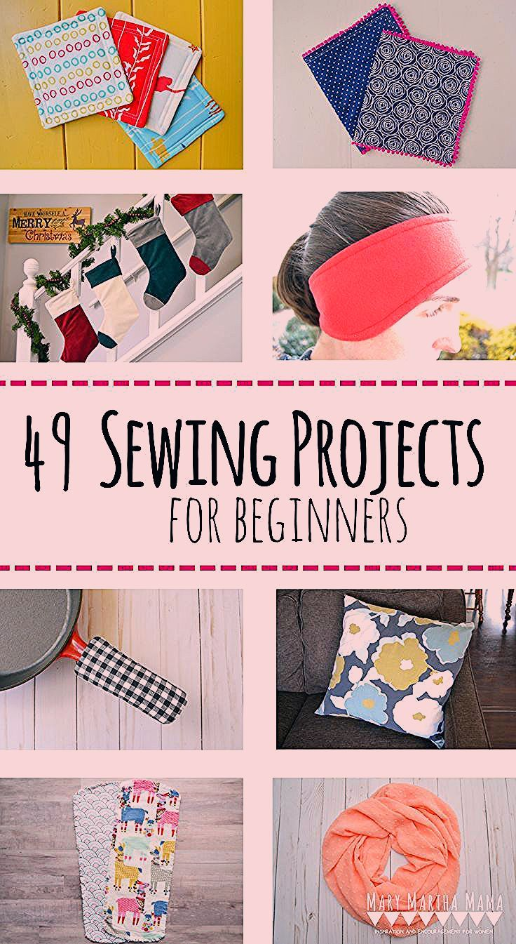 Sewing Projects For Beginners in 2020 Nähprojekte für
