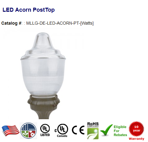 "Uses a special ""outdoor white"" Cree High Output XPG #LED that measures 4300K on the #Kelvin #temperature scale. Perfect for promoting safety,security and high visibly."