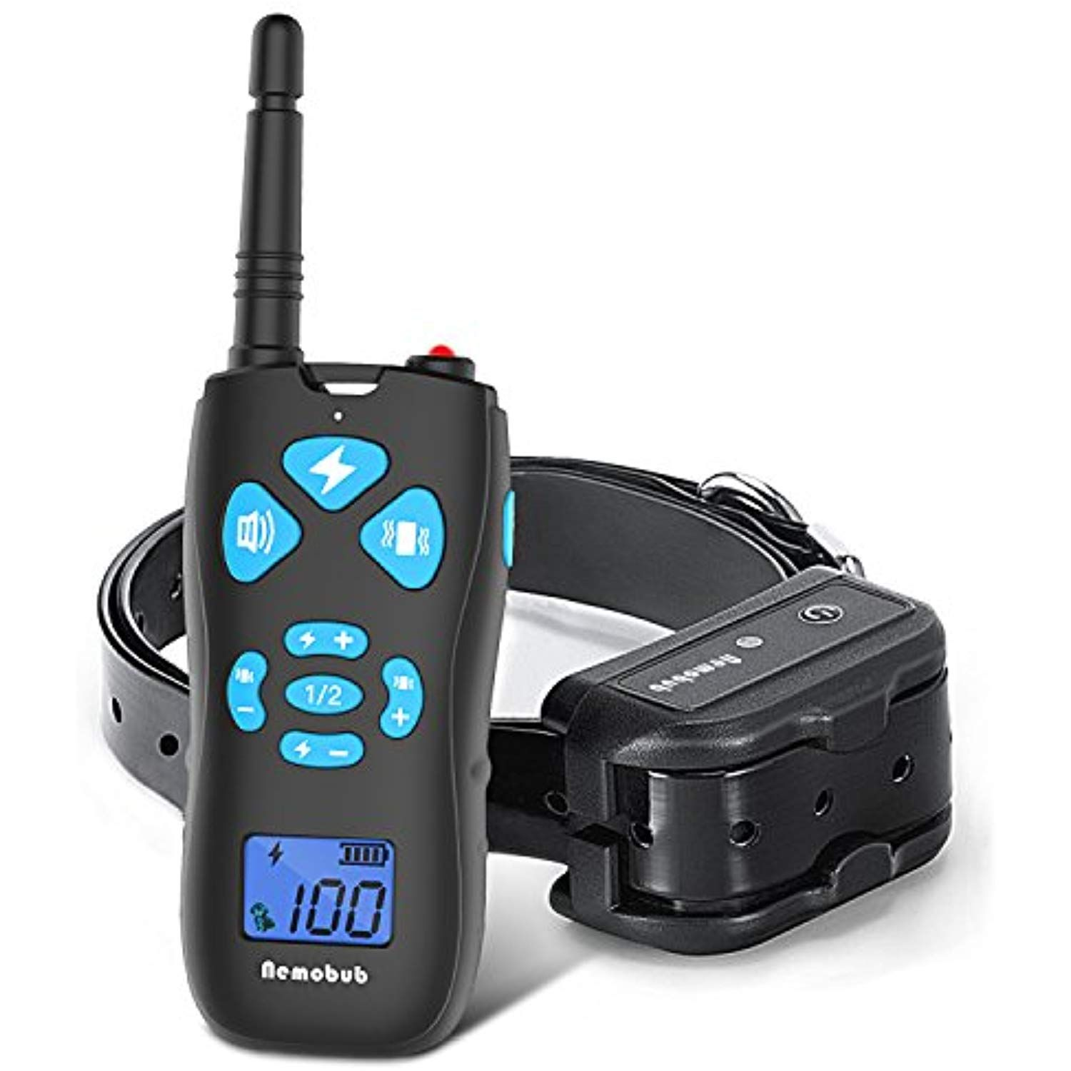 Nemobub Dog Shock Collar 100 Waterproof And Rechargeable Remote