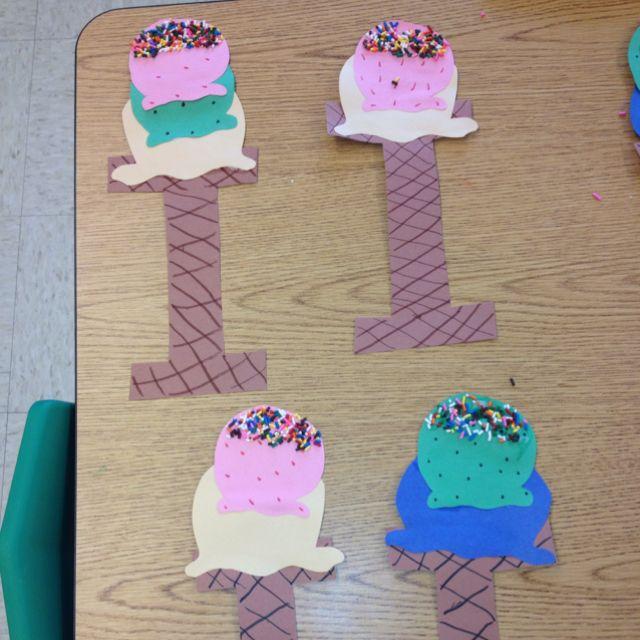 [+] Preschool Crafts Ice Cream