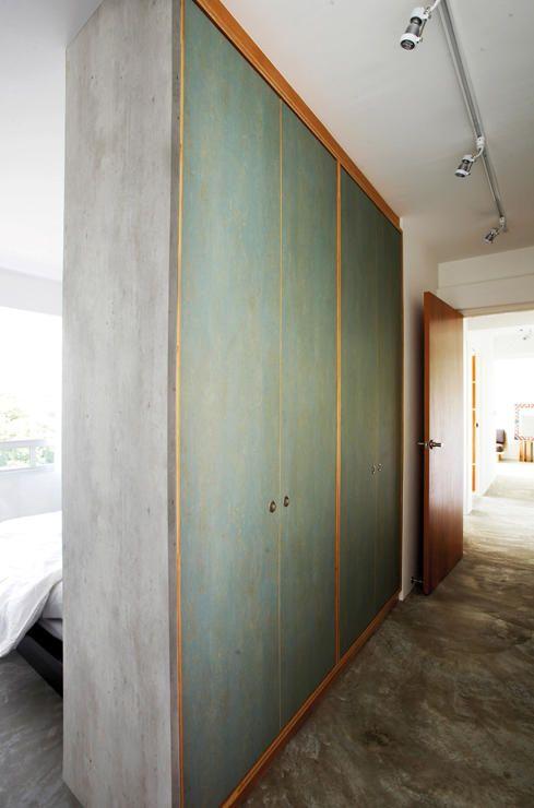 Hdb Bedroom: Want A Walk-in Wardrobe In A Small HDB Flat? Here Are 7