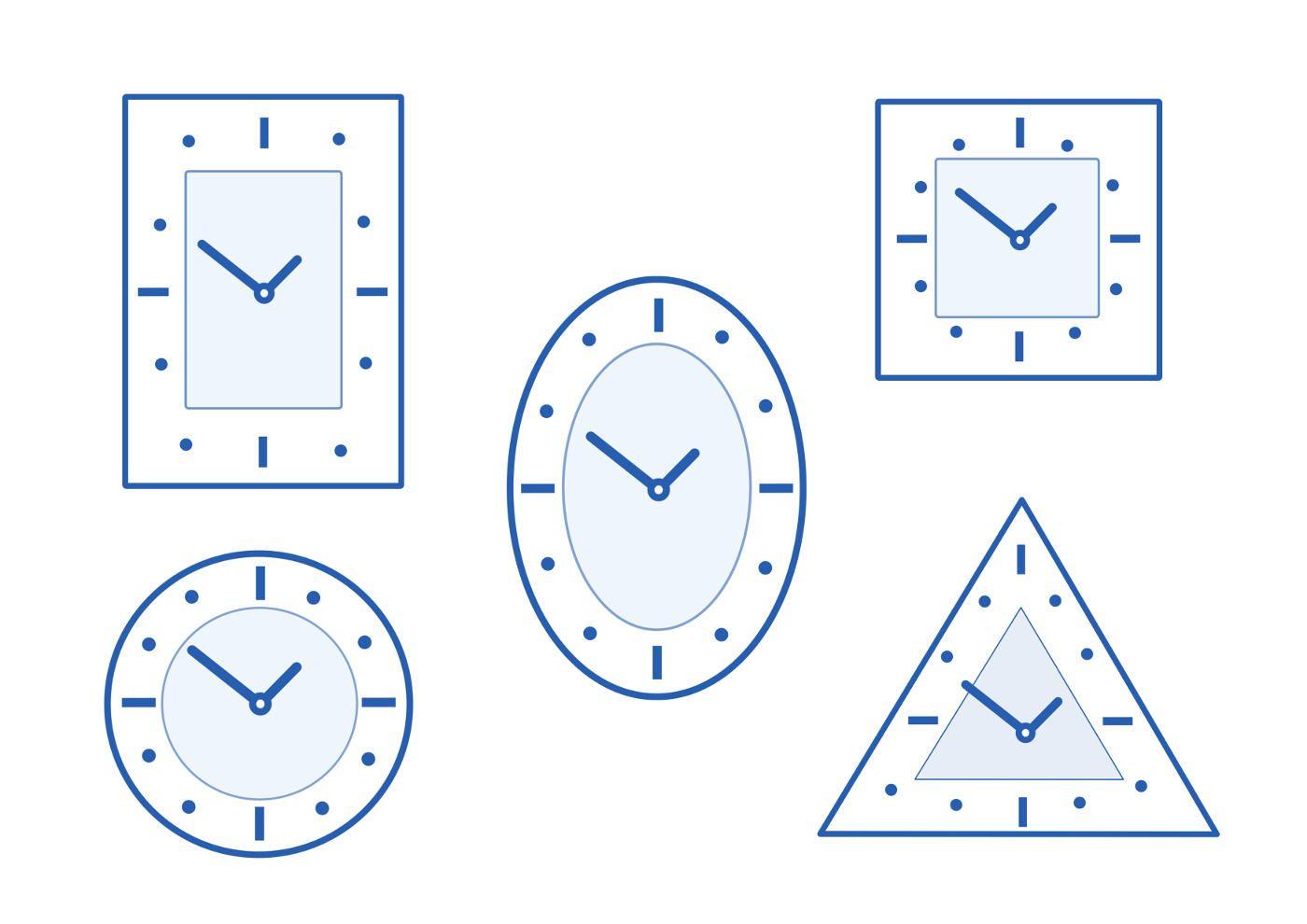 оформить картинки раскраски часов разной формы партнера