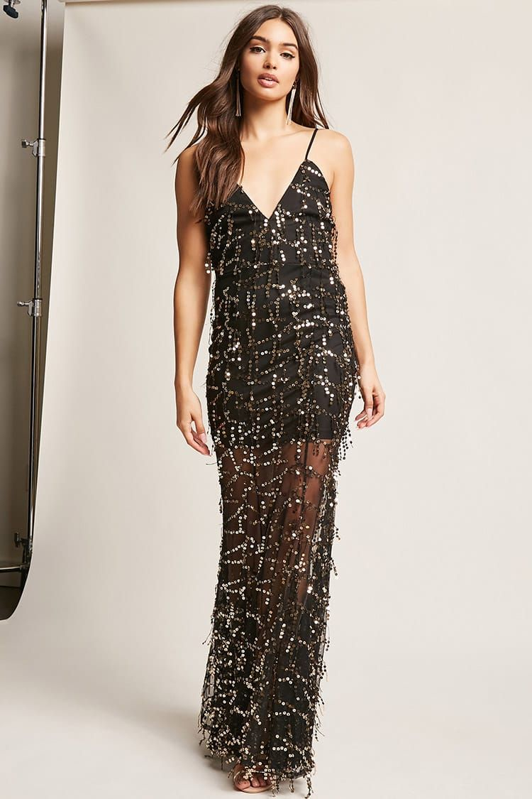 J2017 Sequin Mesh Gown | Sukienki | Pinterest | Sequins, Gowns and ...