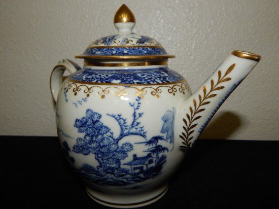 Qing Dynasty 1800's RARE Tea Pot - Sold $375