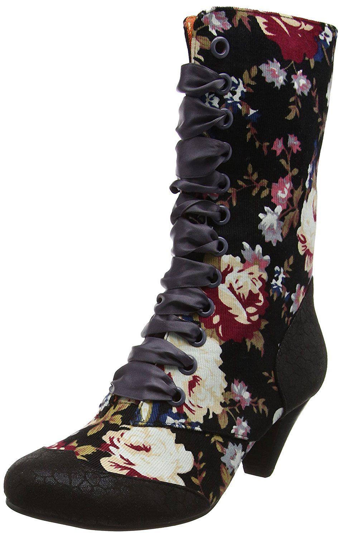 Women's Boots Victoria Ankle Fabulous Licence Lady Poetic z5wq0Bz