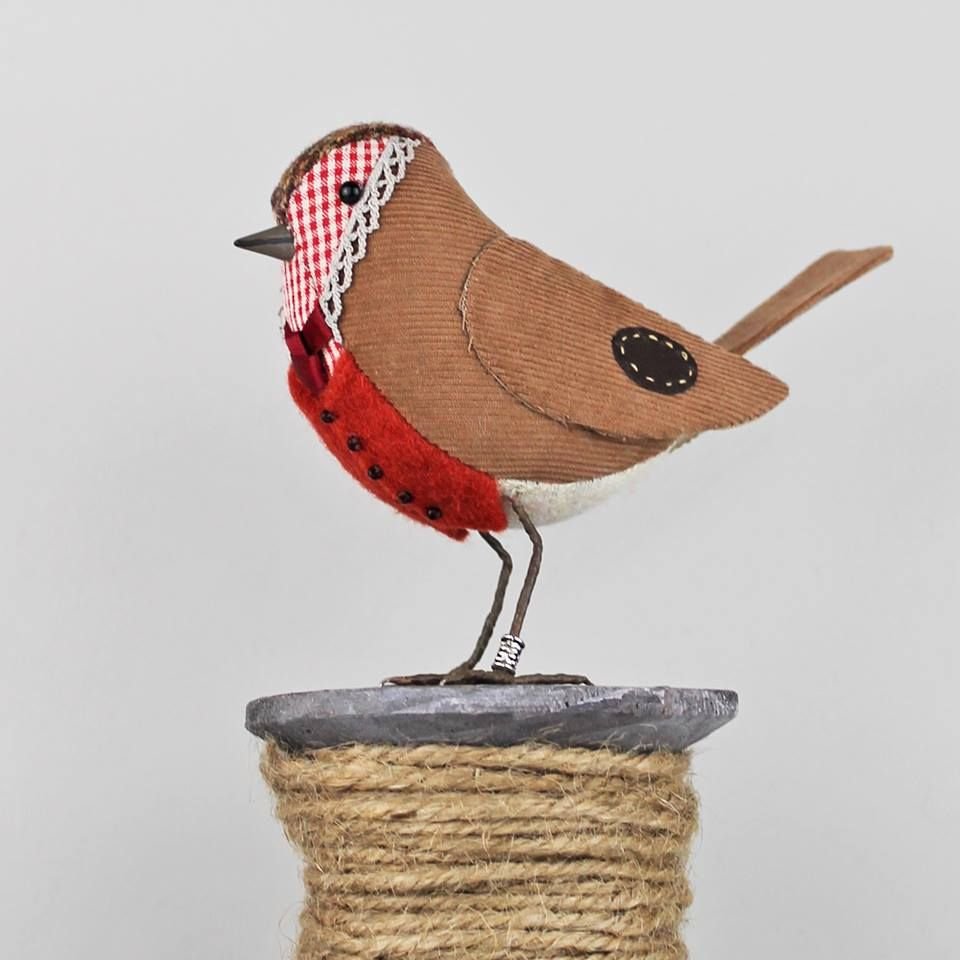 Картинки птица из ткани
