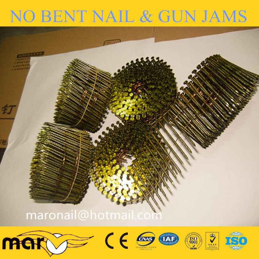 Wire Coil Nails Smooth Shank Coil Wire Nails